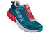 Hoka One One Arahi Running Shoes Men Blue Coral/True Red